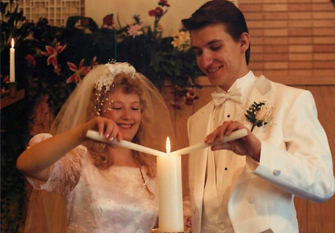 Chris and Wendy Jeub Marriage