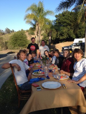 Dinner at the Murphys