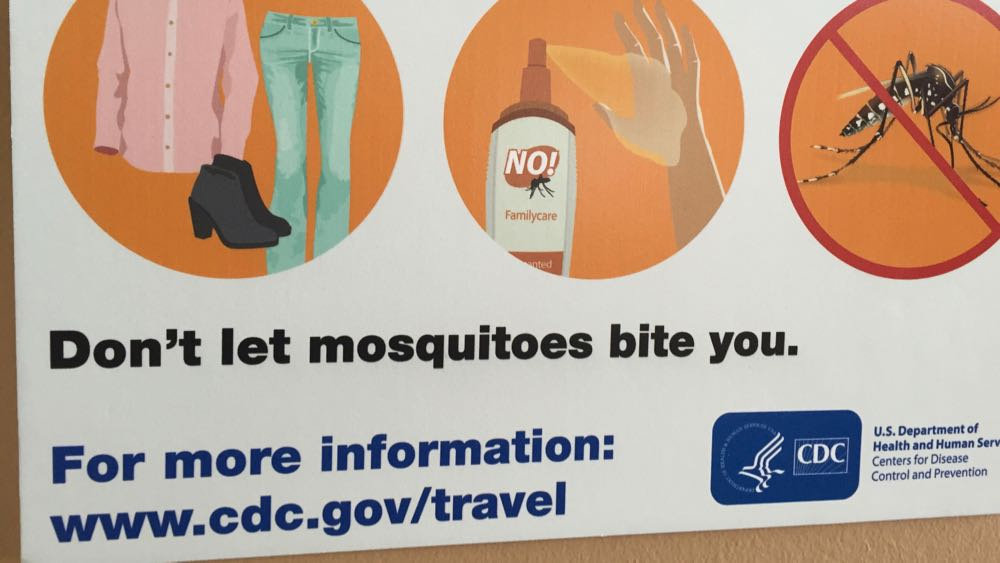 Who at the CDC came up with this brilliant advice?