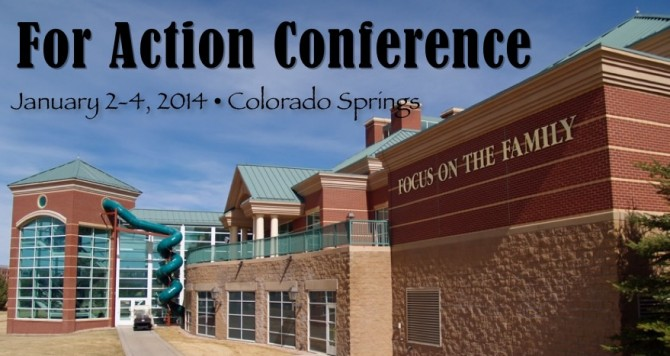 The FOR ACTION CONFERENCE is beyond basic training. We're onto life.