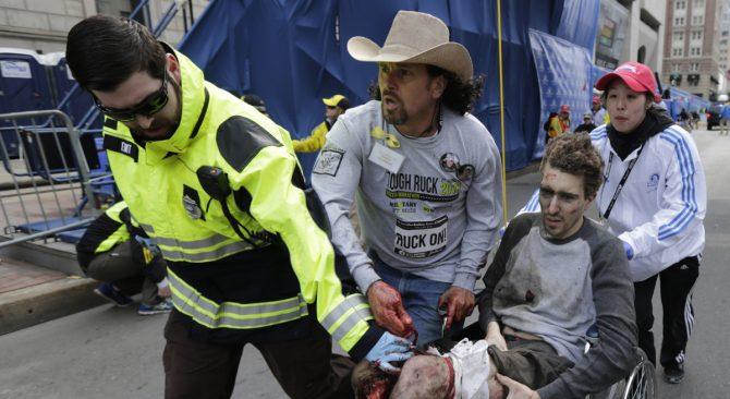 Man in the Cowboy Hat in Boston