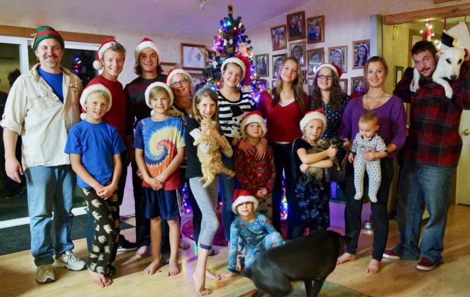 Jeub Family Christmas 2016