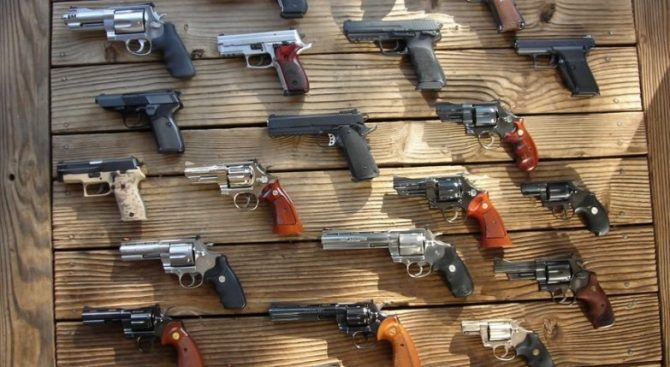 Debaters are arguing for and against the legality of handguns. How does the evidence speak to you?